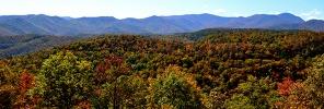 Blue Ridge Parkway Panoramic View