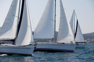 Ships Sailing